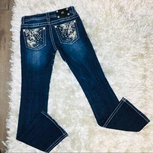 Miss Me Bootcut Studded Jeans Sz 25